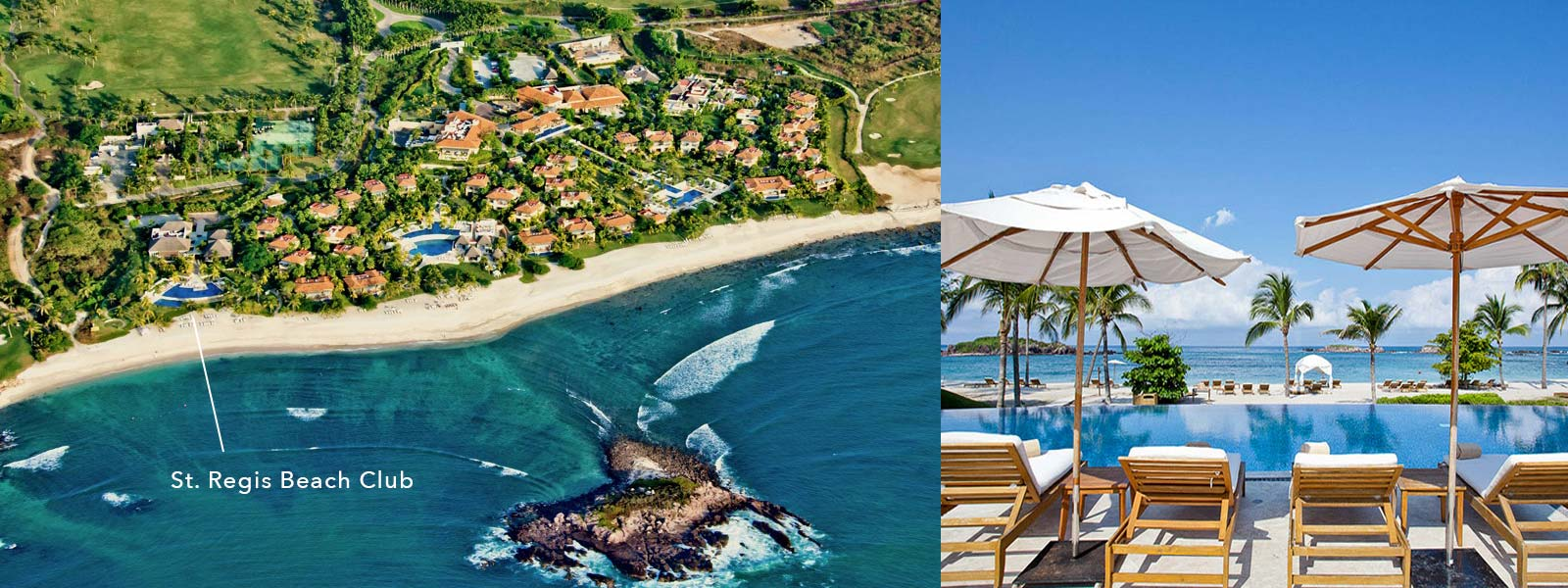 The St Regis Beach Club At Punta Mita Resort Riviera Nayarit Mexico